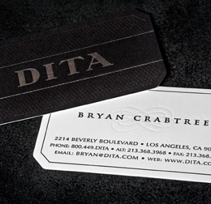 Dita Eyewear Business Cards by BC Design