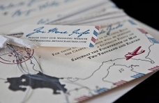 Costa Rica Wedding Invites by BC Design