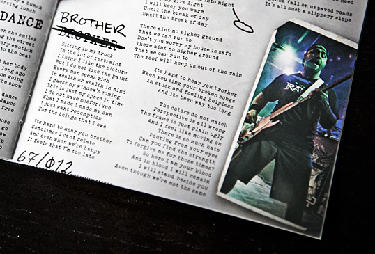 The Expendables - Prove It liner note photos by Bryan Crabtree