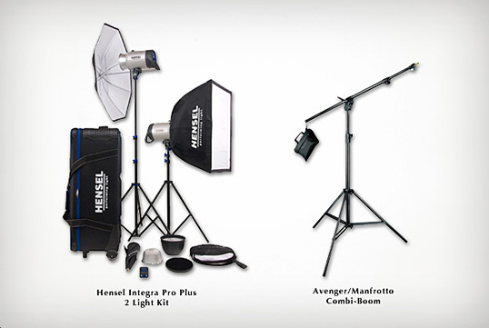 Setting up a product photography studio - Lighting Kit