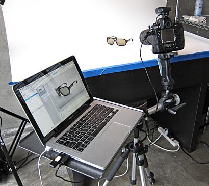 Setting up a product photography studio - Teathered Tripod Setup