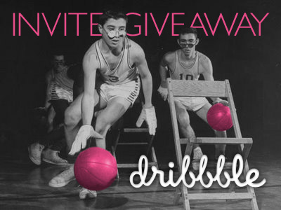 Double Dribbble Invite Giveaway by Bryan Crabtree