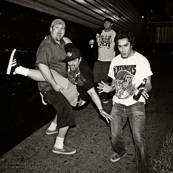 The Expendables – Offical Band Photo © Bryan Crabtree