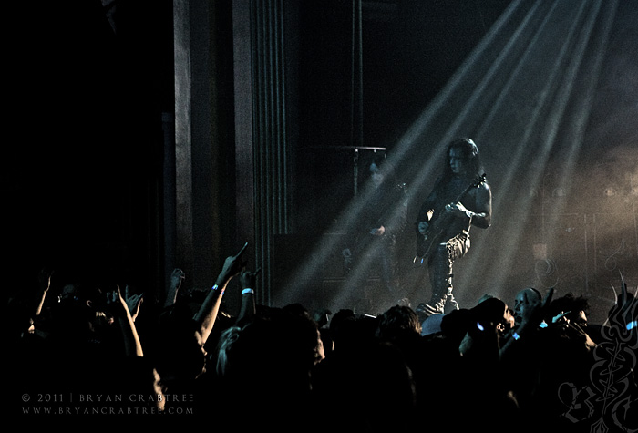 Cradle of Filth at the Fox Pomona © Bryan Crabtree