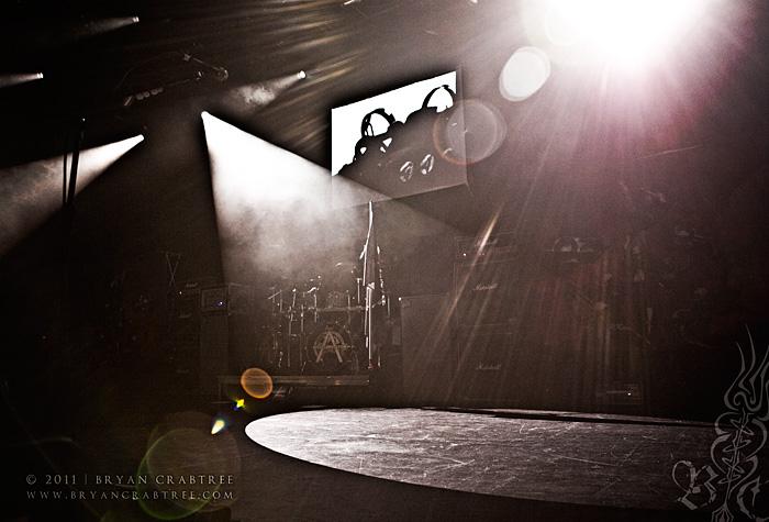 Arch Enemy at Club Nokia © Bryan Crabtree