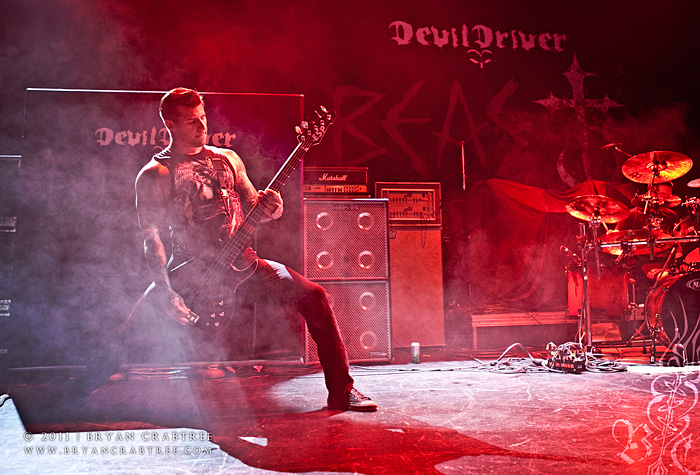 Devil Driver & Skeletonwitch at Club Nokia © Bryan Crabtree