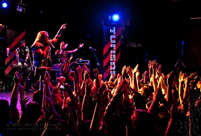 Paganfest 2012 - Turisas at the Key Club © Bryan Crabtree