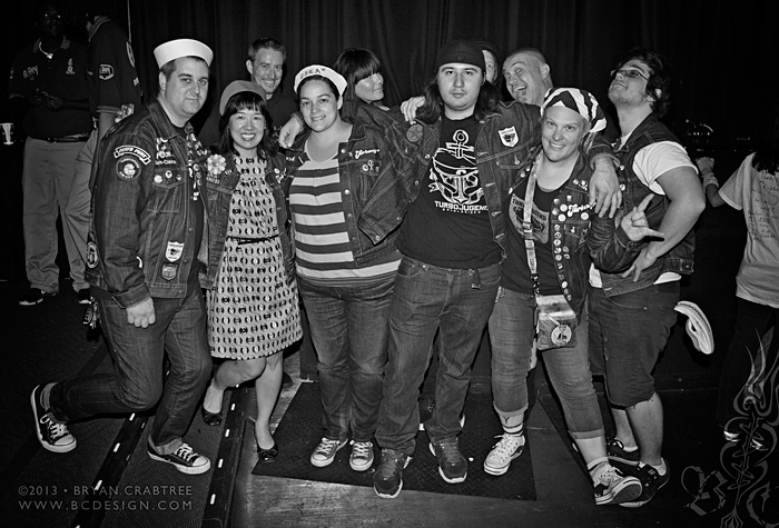 Turbonegro at the El Rey © Bryan Crabtree