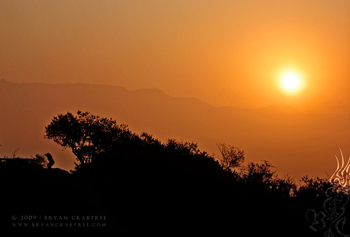 Griffith Park at Dawn © Bryan Crabtree