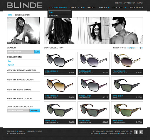 Blinde Eyewear by BC Design