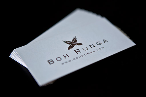 Boh Runga Business Cards by BC Design