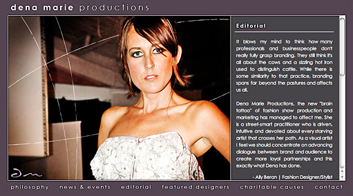 Dena Marie Productions by BC Design