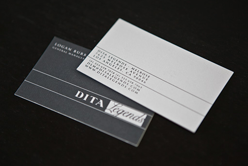 Dita Legends Business Cards by BC Design