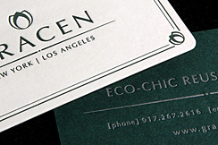 Gracen Business Cards by BC Design