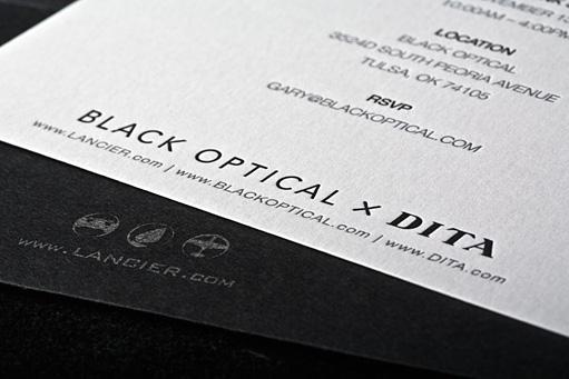 Lancier Release Party Invitation by BC Design