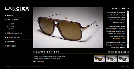 Lancier Eyewear by BC Design