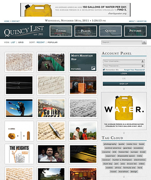Quincy List by BC Design
