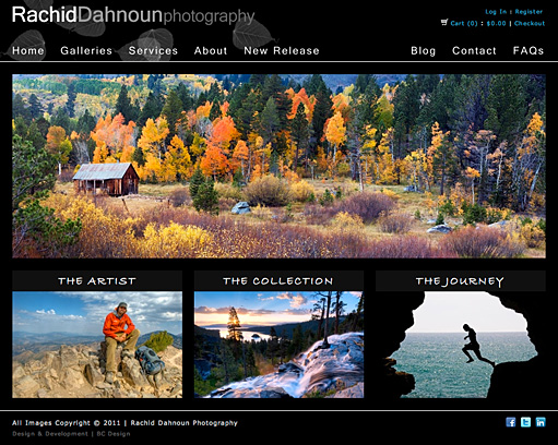 Rachid Dahnoun Photography by BC Design