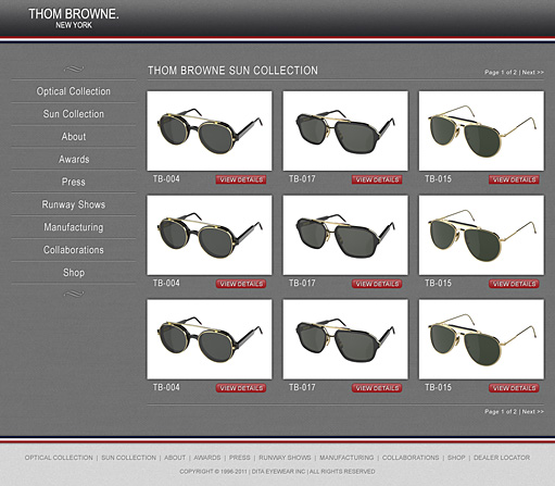 Thom Browne Eyewear by BC Design